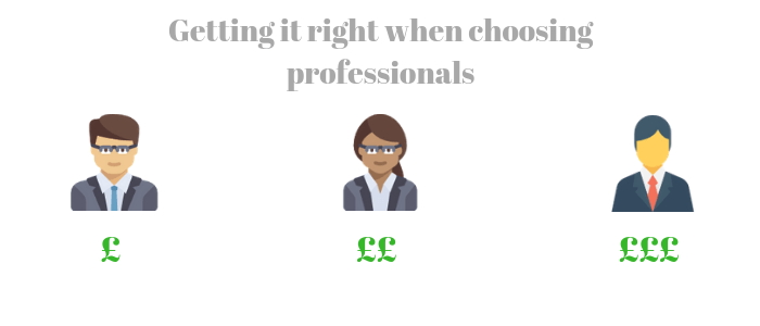 Choosing the right professionals in collective enfranchisement claims